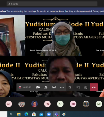 Yudisium Periode II 26 Sept 2020